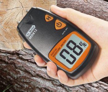 Dr.meter Humidimètre numérique de bois MD812